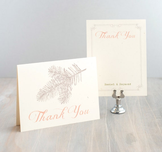 enchanted forest decorations.htm enchanted forest wedding thank you cards rustic wedding etsy  enchanted forest wedding thank you