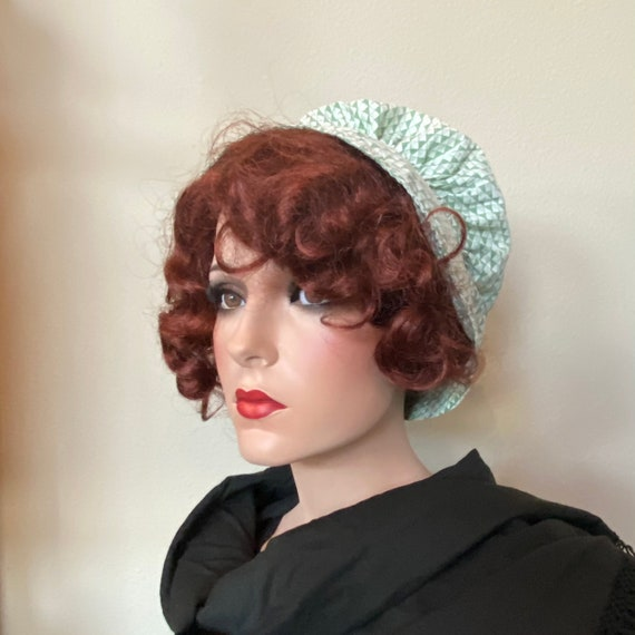 1930's Hat Vintage Prairie Sunbonnet Sun Bonnet Ge