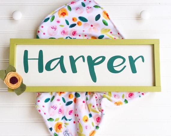 Name Sign . Baby Girl . Boho Tribal Arrow . Pink Grey . Woodland Arrow Name Sign . Boho Sign . Modern Nursery . Big Girl Room .Woodland Girl