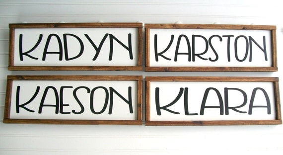 Baby Name Sign . Baby Boy . Nursery Name Sign . Name Sign . Newborn Name Sign . Personalized Baby Shower Gift . Big Boy Room