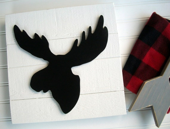 Moose Sign . Moose Head . Moose Nursery . 3D Sign . Lumberjack Nursery . Lodge .Wood Moose Sign . Moose  . Woodland Decor . Forest Nursery