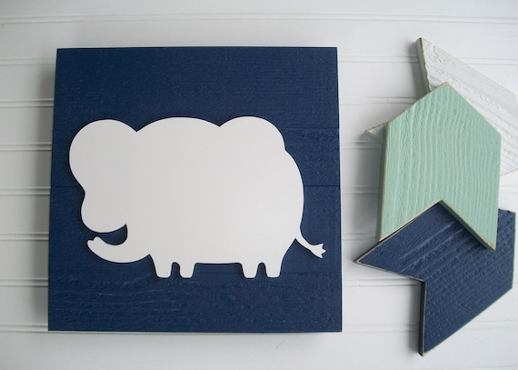 Elephant  Nursey Sign . Baby Boy . Elephant . Elephant Nursery . 3D Sign . Elephant Nursery Decor . Jungle Nursery . Big Boy Room