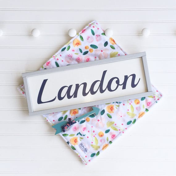 Baby Girl Nursery Name Sign .Name Sign . Baby Girl Nursery . Grey . Baby Shower .Big Girl Room .