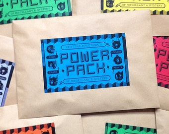 Power Pack XXL - Prints, Zines, Comics, Cards, Stickers & More!