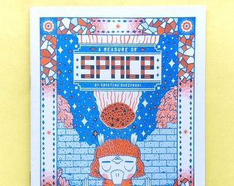 A Measure Of Space - Comic Book Zine, Introvert Cosmic Meteor