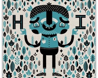 HI - Everyday Card
