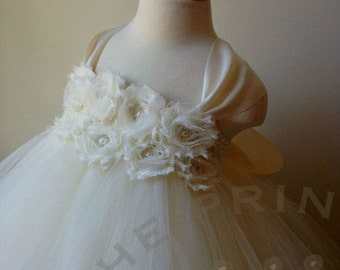 4c6c2adc3a ivory flower girl dress
