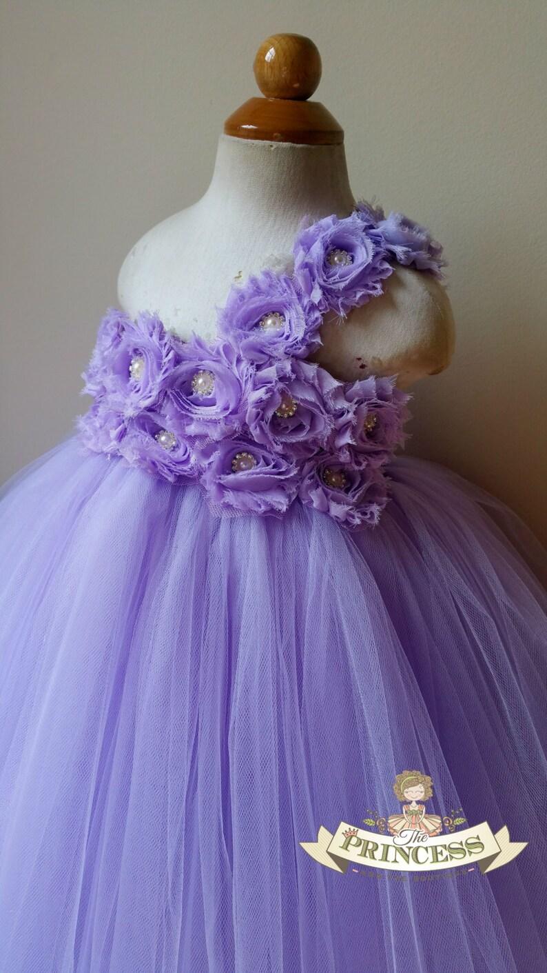 3eaf70fc33e Lavender flower girl dress tutu dress flower girl dress