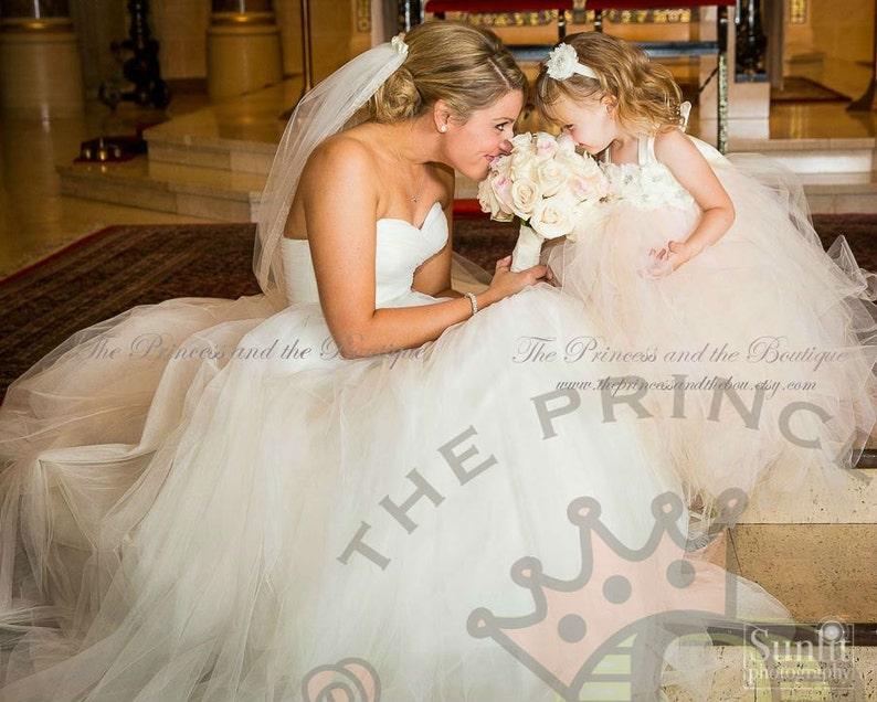 light pink dress baby dress child dress wedding dress blush dress flower girl dress ivory flower girl dress flower girl dresses