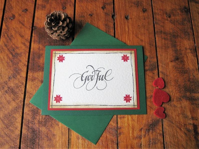 Frohe Weihnachten Norwegisch.Grün God Jul Norwegisch Schwedischen Dänische Weihnachtskarte Skandinavischen Nordic Grüße Xmas Kort Scandi Stil Finnisch
