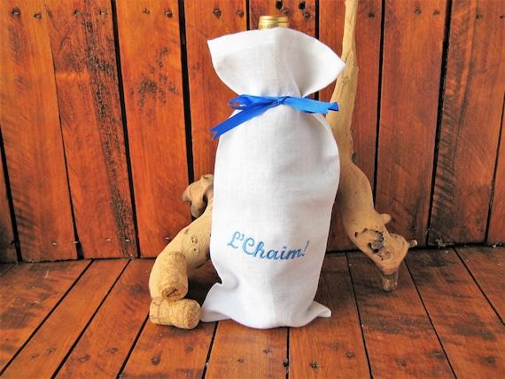 LChaim Bottle Bag Jewish Party Celebration Wine