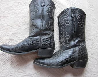 4ce59a086e3 Items similar to Vintage Iron Age Phoenix western cowboy steel toe ...