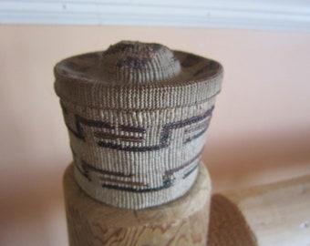 rare tlingit rattle top basket museum quality gorgeous basket