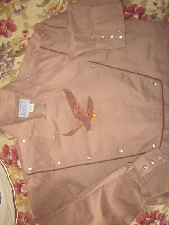 vintage nwot rockmount ranch wear shirt custom fit