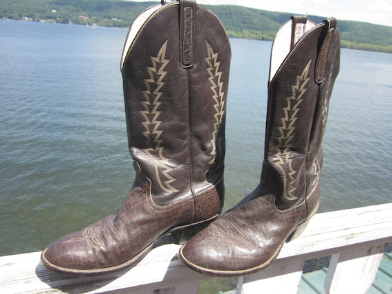 anderson bean boot co. boots, cowboy boots, wester