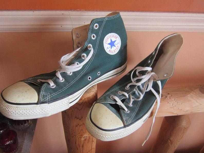 14b4aab0ed9356 SALE RARE chuck taylor converse all star high top sneakers sz