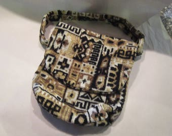 beautiful tapestry purse carpetbag handbag