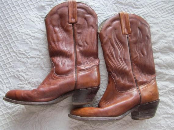 wmns sz 9 FRYE cowboy boots western boots, womens