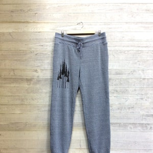 Hustle and Flow Sweatpants Tree Pants Gift for Dad Boyfriend Gift Camping Sweats Gym Sweats