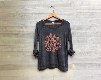 Pumpkin Patch Pullover, Halloween Top, Pumpkin Shirt, Trick or Treat Top, Foodie Gift