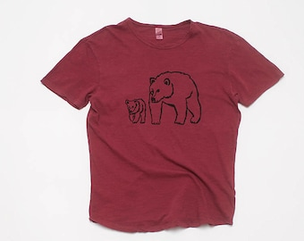 Me and Papa Bear Tee, Father's Day, Gift for Dad, Bear Shirt, 100% Cotton