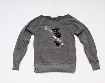 SALE Koala Sweatshirt, size Small