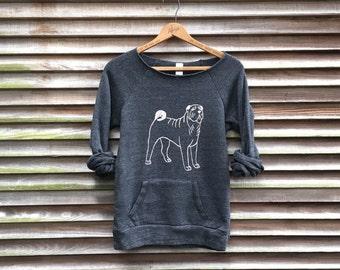 Roly Poly Shar Pei Shirt, Dog Sweater, Dog Gift, Cozy Sweatshirt, Sharpei Lover, Xmas Gift