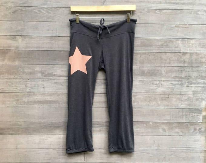 make your mark Star Yoga Crops, Cropped Pants, Pajamas, Lounge Pants, Comfy Pants