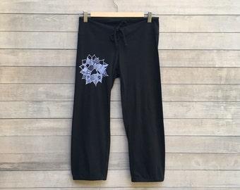 find your center Lotus Yoga Pants, Pajama Bottoms, Cropped Pants, Capri Pants, Pajama Bottoms