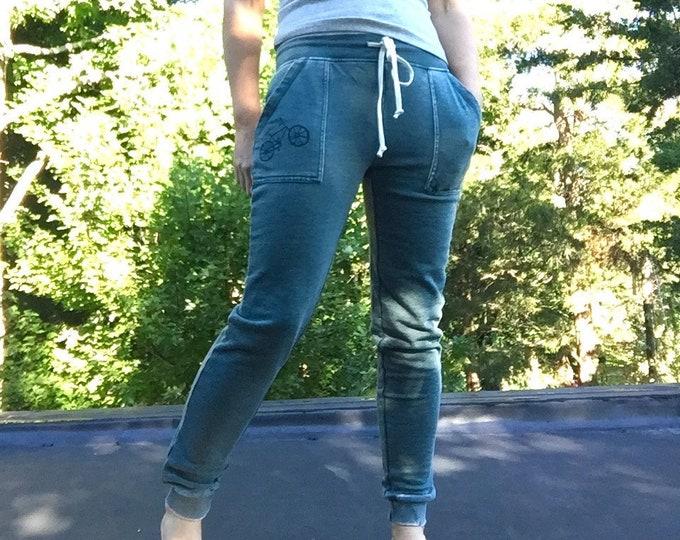 Favorite Sweatpants with Bicycle, Bike Pants, Bike Sweats, Comfy Pants, Joggers, Bike Gift, Cool Sweatpants, Gym Pants, Weekend Wear