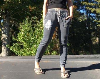 Favorite Sweatpants with Oak Tree, Gym Pants, Weekend Wear, Cozy Sweats, XS,S,M,L,XL