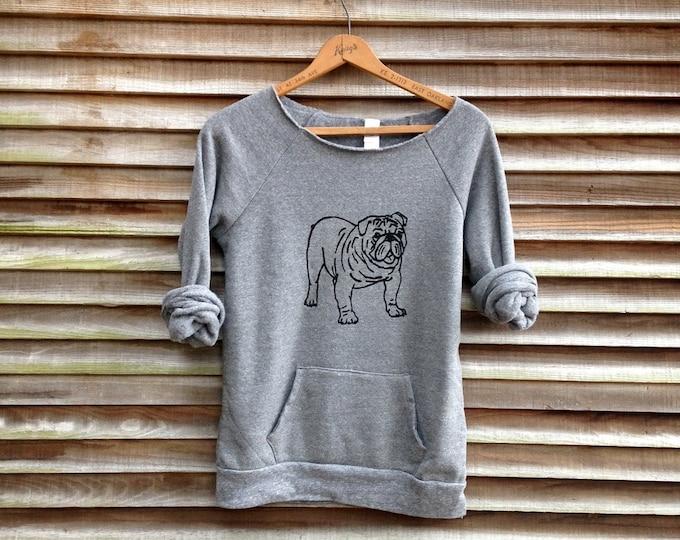 my faithful Bulldog Sweatshirt, Unique Bulldog Gift, Dog Sweater, Cozy Sweatshirt, Dog Mom Gift