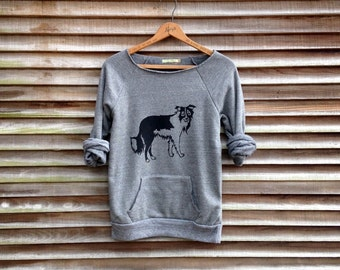 all day everyday Border Collie Shirt, Dog Sweater, Dog Sweatshirt, Gym Top, Collie Gift, Cozy Sweatshirt, Xmas Gift