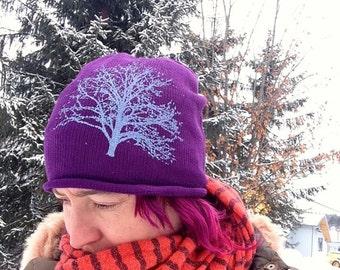 shadow tree Hat, Winter Hat, Beanie, Unique Hat