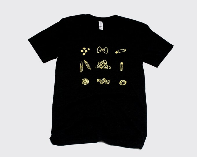 Pasta Shirt, Gift for Dad, Cook Shirt, Chef Gift, Italian Shirt, Pasta Shapes, Foodie Tee