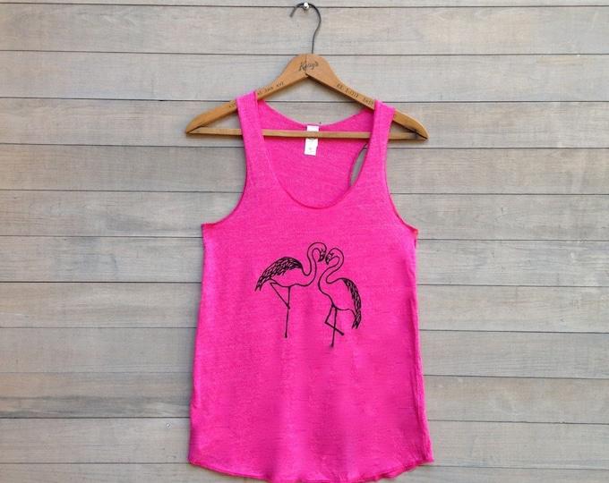 SALE Flamingo Tank Top