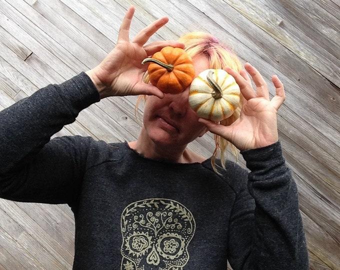 Calavera Sweater, Sugar Skull, Day of the Dead, Halloween Gift, S,M,L,XL,2XL