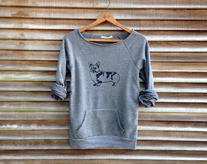 let me think on it Corgi Shirt, Gift for a Corgi Lover, Dog Lover, Cozy Sweatshirt, Welsh Corgi, Dog Sitting Gift, Dog Mom Gift