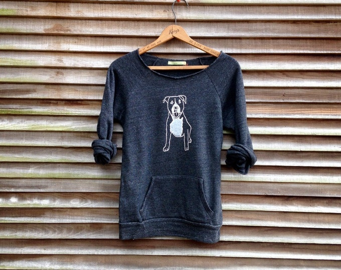 up for anything Pitbull Shirt, Dog Sweater, Pit Bull Gift, Pit Bull Sweater, Cozy Sweater, Pit Bull Love, Dog Sweater, Xmas Gift
