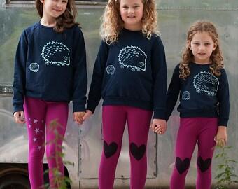 me and mama Hedgehog Shirt, Kids Sweater, Little Brother Gift, Little Sister Gift, Hedgehog Gift, 2-12