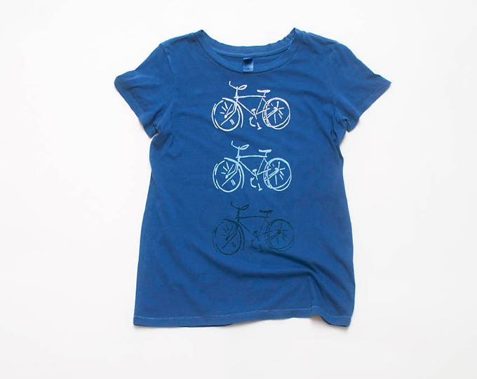 The Bike Tee, Bicycle Shirt, Gift for a Guy, Gym Tee, Biker's Tee, Bike Gift, Bicyclist Tee, 100% Cotton