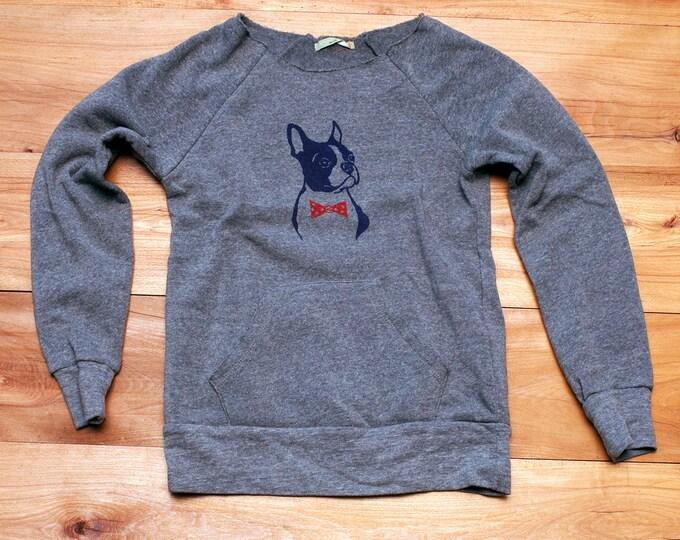 you handsome devil Boston Terrier Shirt, Bowtie Dog Sweater, Dog Sweater, Boston Terrier Gift, Boston Shirt, Dog Gift, Dog Lover
