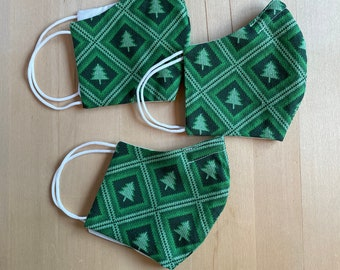Women and Teen Christmas Sweater Mask