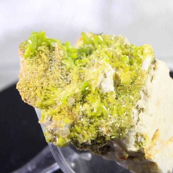 Sparkling Pyromorphite Mineral Specimen from China