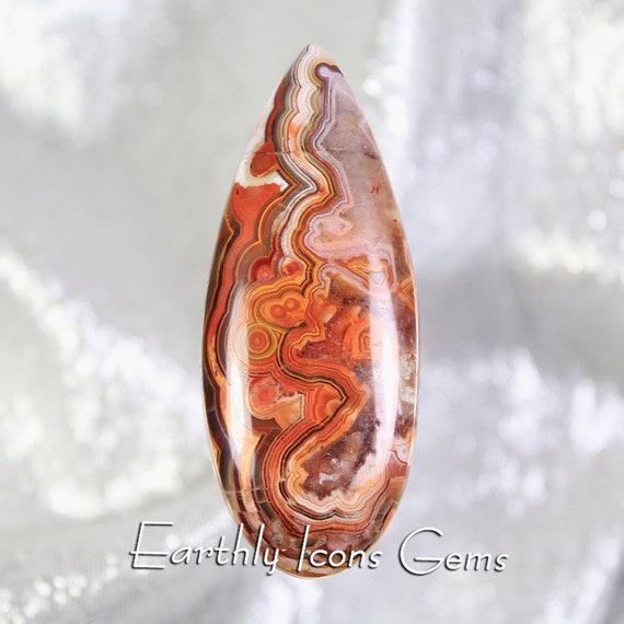 Rincon Lace Agate Designer Cut Cabochon