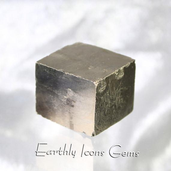 Pyrite Cube Mineral Specimen; Pyrite Square; Pyrite Crytstal