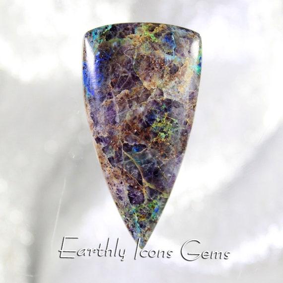 Kaleidoscope Prism Stone Designer Cut Cabochon, Designer Cabochons; a/k/a Kaleidoscope Prism Agate