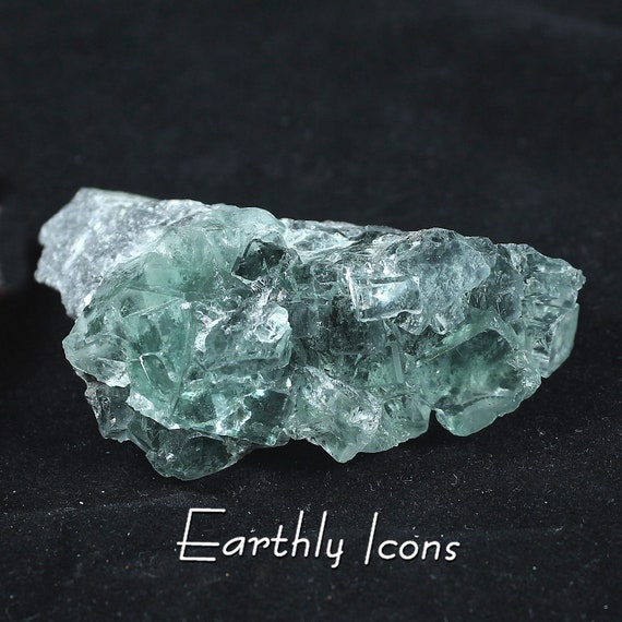 Green Fluorite Mineral Specimen Cluster from Hunan Province, China