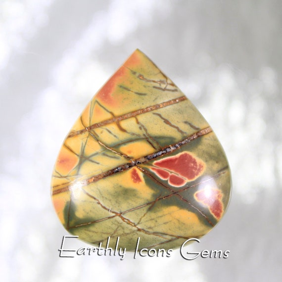 Cherry Creek Jasper Designer Cut Cabochon
