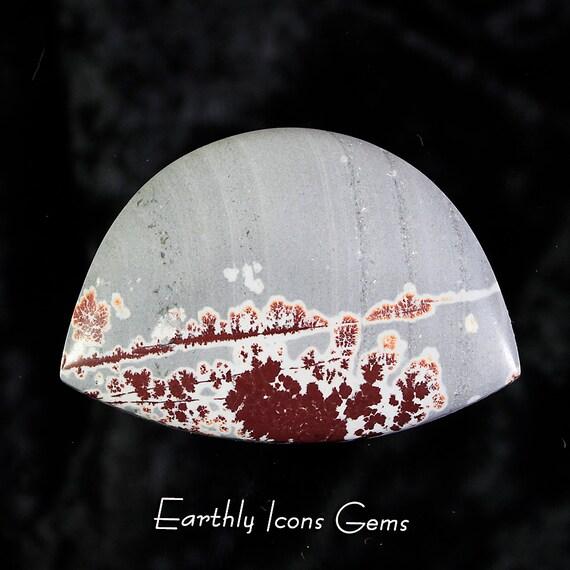 Sonoran Dendritic Rhyolite Landscape Designer Cut Cabochon, Designer Cabochons